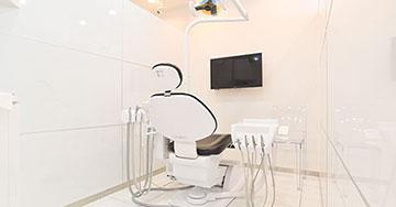 診療室はすべて「個室」です